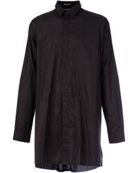 Ann Demeulemeester Oversized Shirt - Lyst