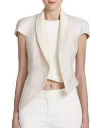 3.1 Phillip Lim Asymmetrical Fern Embroidered CloquÉ Jacket - Lyst