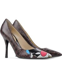 Moschino Pumps brown - Lyst