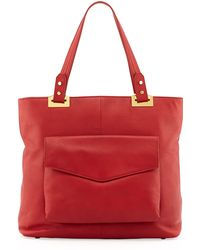 Rachel Zoe Abbey Northsouth Leather Tote Bag - Lyst