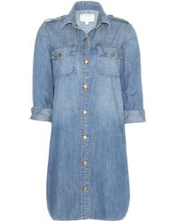 Current/Elliott The Perfect Shirt Dress - Lyst