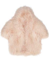 Temperley London Lourdes Shearling Jacket - Lyst