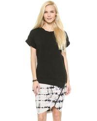 Pam & Gela Short Sleeve Sweatshirt  - Lyst