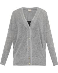 Vanessa Bruno Cebe Wool And Cashmere-Blend Cardigan - Lyst