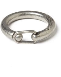 Cheap Monday - Clasp Ring - Silver - Lyst