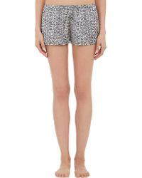 Stella McCartney - sienna Soaring Leaf-print Pyjama Shorts - Lyst