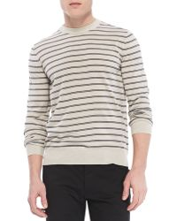 Theory Laine Sweater in New Sovereign Wool - Lyst
