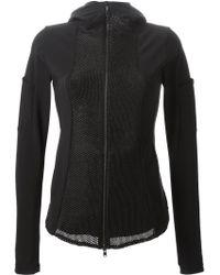 Lost & Found - Panelled Wool-Blend Jacket - Lyst