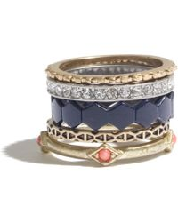 Madewell Mix Amp Mingle Rings - Lyst