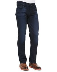 7 For All Mankind Standard Nightshadow Jeans - Lyst