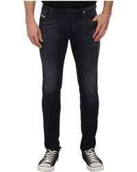 Diesel Blue Sleenker Trousers - Lyst