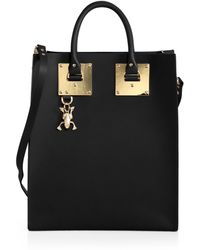 Sophie Hulme Structured Tote - Lyst