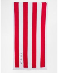 Seafolly Splash Beach Towel - Lyst