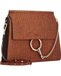 Chloé Faye Medium Shoulder Bag - Lyst