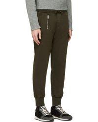 Diesel Khaki Cargo P_orto Lounge Pants - Lyst