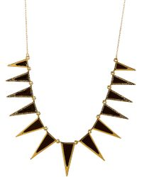 House Of Harlow Necklace Longcollar Enameled - Lyst