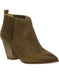 Belle By Sigerson Morrison | Young Leather Ankle Boots | Lyst
