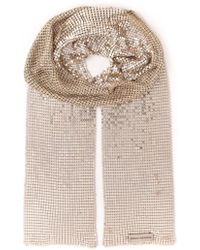 Paco Rabanne Disco Glam Scarf Necklace - Lyst