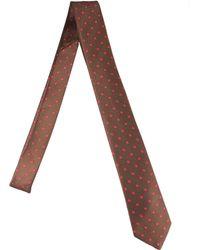 Lanvin Silk Tie - Lyst