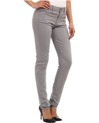 Calvin Klein Jeans Brushed Sateen Five Pocket in Monument - Lyst