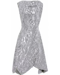 Vivienne Westwood Anglomania Metallic Aztek Dress - Lyst