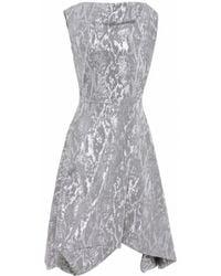Vivienne Westwood Anglomania Metallic Aztek Dress - Lyst