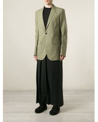 Thamanyah - Dislocated Shoulder Single Breasted Jacket - Lyst