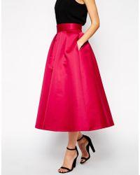 Coast - Meslita Full Skirt - Lyst