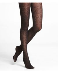 Express Animal Texture Full Tights - Lyst