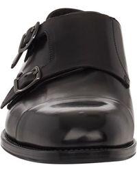 Giorgio Armani Cap-toe Double-monk Shoes - Lyst
