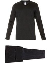 Hanro Cotton-jersey Pyjama Set - Lyst