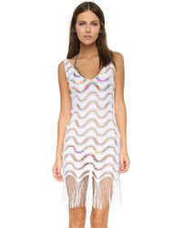 Luli Fama - Buena Onda Flirty Fringe Dress - Lyst