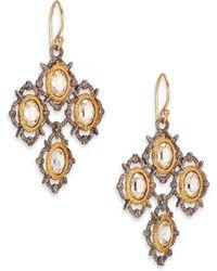 Alexis Bittar Elements Desert Jasper Crystal Spur Lace Drop Earrings - Lyst