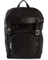 Saint Laurent Classic Backpack - Lyst
