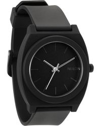 Nixon Time Teller P Matt Black Watch - Lyst