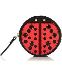 Kate Spade Ladybug Coin Purse - Lyst