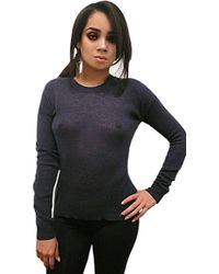 Enza Costa Cashmere Crew Neck Sweater - Lyst