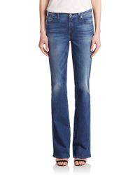 7 For All Mankind Kimmie Bootcut Jeans blue - Lyst