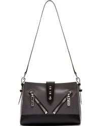 Kenzo Grey Leather Kalifornia Medium Bag - Lyst