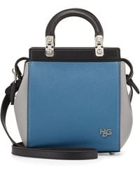 Givenchy Hdg Top-Handle Mini Goat Leather Crossbody Bag - Lyst