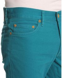 Marc By Marc Jacobs Supersoft Turquoise Jeans - Lyst