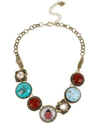 Betsey Johnson - Lucky Charms Lady Bug Statement Necklace - Lyst