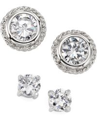 City By City | Cubic Zirconia Studs (11-1/2 Ct. T.w.) | Lyst