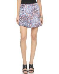 Ella Moss - Floral Skirt - Multi - Lyst