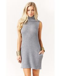 Blessed Are The Meek Vertical Knit Sweater Dress - Lyst