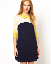 Sugarhill - Scallop Dress - Lyst