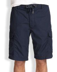 Diesel Blue Cargo Shorts - Lyst