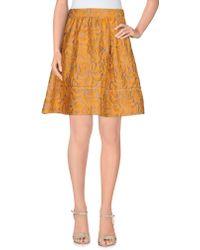 Prada | Knee Length Skirt | Lyst