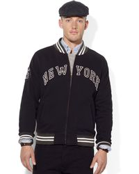 Ralph Lauren Polo Fleece New York Jacket - Lyst