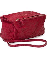 Givenchy Pandora Mini Leather Satchel Bag - Lyst